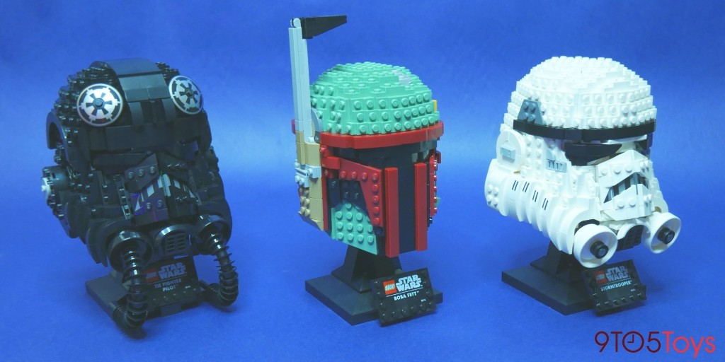 LEGO Star Wars Helmets pairs UCS details with affordability - 9to5Toys
