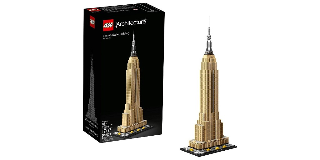 LEGO's 1,700-piece Empire State Building drops to low of $110, more from $12 - 9to5Toys