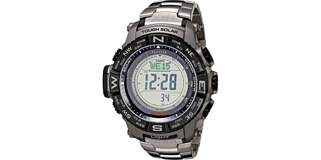 Casio Pro Trek Solar Tough Digital Watch at all-time low: $185.50 (Reg. $270) - 9to5Toys