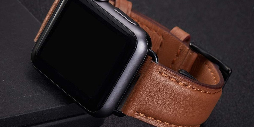Save 50% on these genuine leather Apple Watch bands in various styles for $8 - 9to5Toys