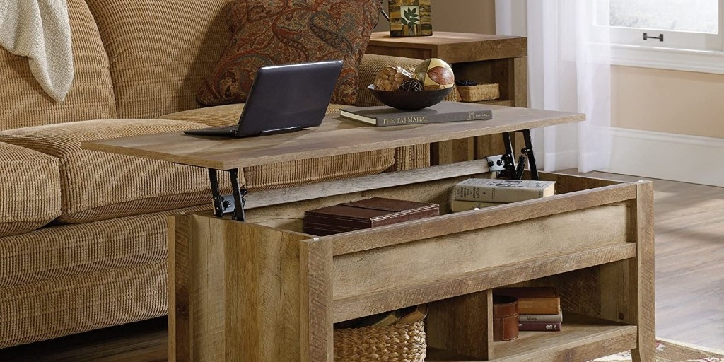 Remotely work with Sauder's Lift-Top Coffee Table at $136.50 (Reg. $180), more - 9to5Toys