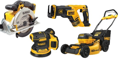 Today only, save up to 45% on DEWALT tools, outdoor gear, accessories, more