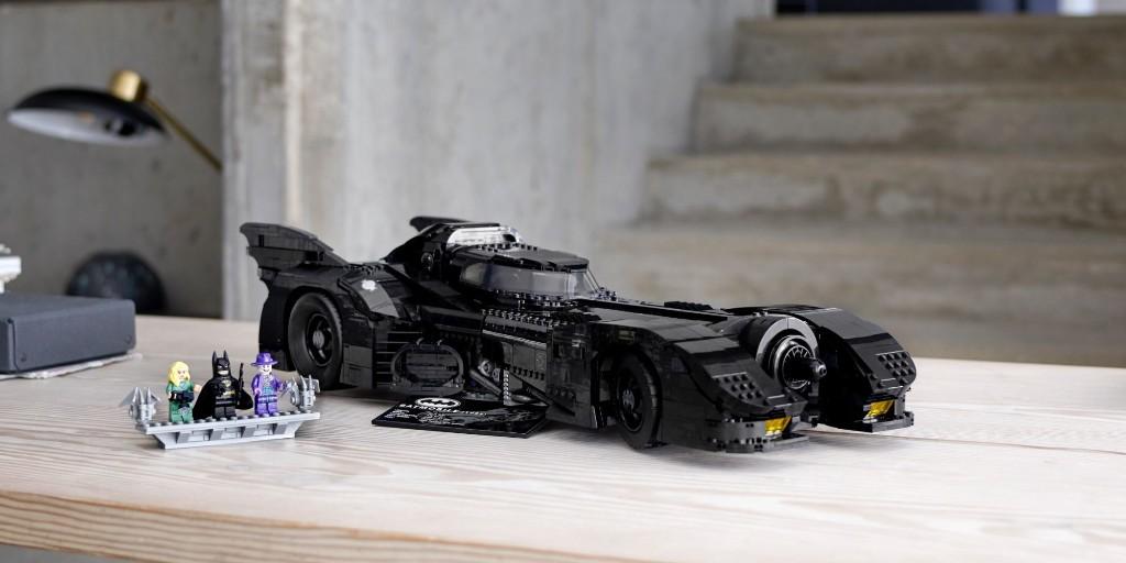 LEGO Batmobile 1989 debuts as massive 3,300-piece creation - 9to5Toys