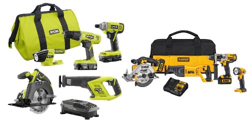 Home Depot 1-day tool sale starts at $25: Ryobi, DEWALT, Milwaukee, more