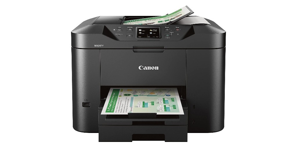 This Canon AiO color printer does it all with AirPrint on-board too for $100 - 9to5Toys