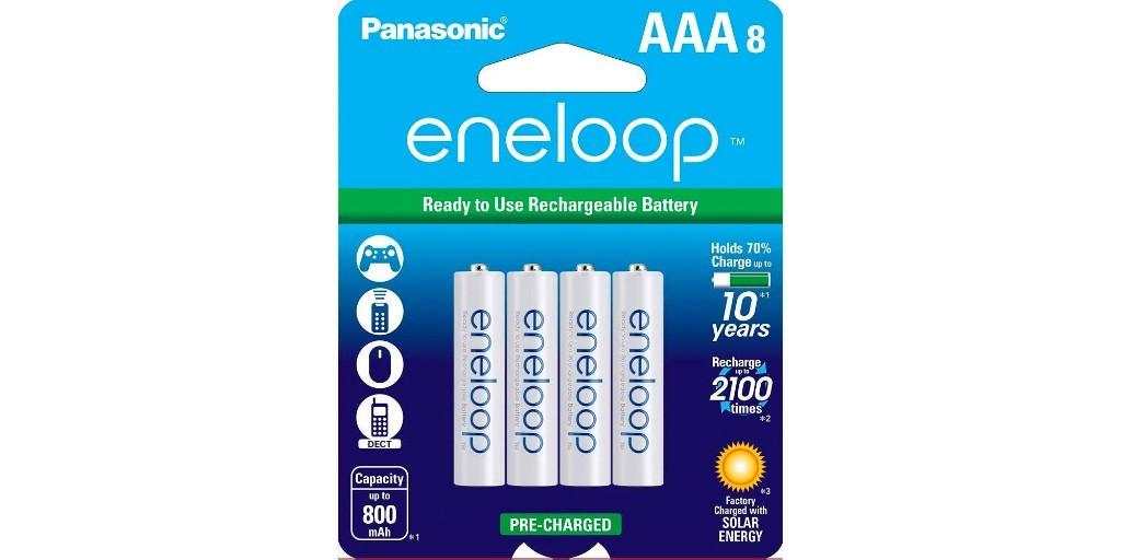 Panasonic's eneloop AAA rechargeable batteries drop to $13.50 (Reg. $20) - 9to5Toys