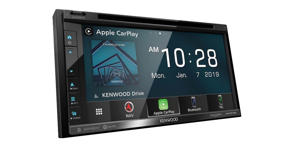 Save $200 on Kenwood's 6.8-inch CarPlay and Android Audio Receiver - 9to5Toys