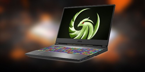 MSI introduces the first gaming laptop with AMD's 7nm graphics card