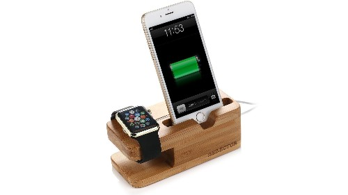Charge your Apple Watch and iPhone with this Bamboo Dock for $11.50 Prime shipped (Reg. $17)