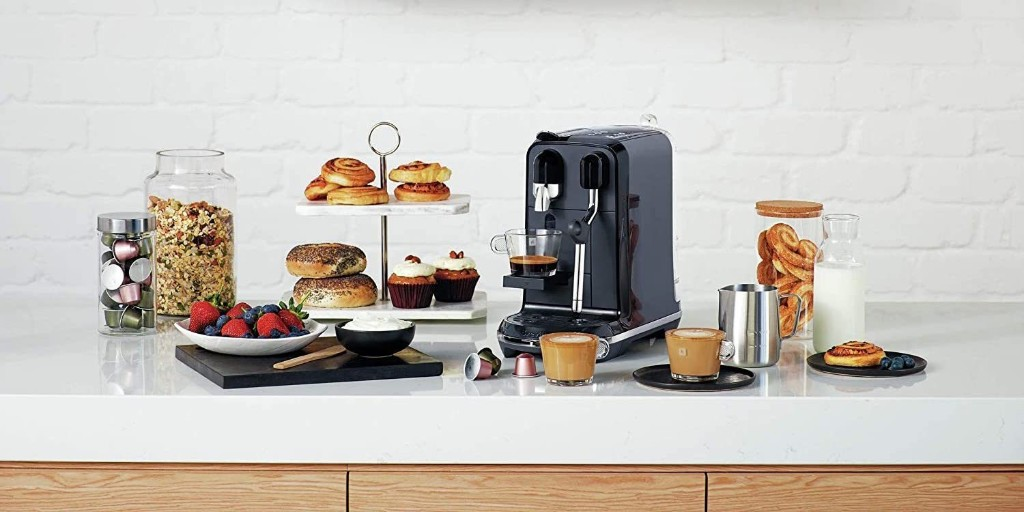 Score a Nespresso Breville Coffee Maker with milk steam wand at up to $160 off - 9to5Toys
