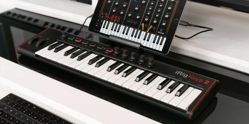 IK debuts new Mac/iOS MIDI keyboards today with the iRig Keys series 2 lineup