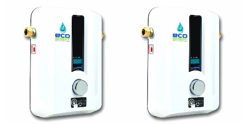 Amazon 1-day Ecosmart Tankless Water Heater sale up to $100 off from $166.50