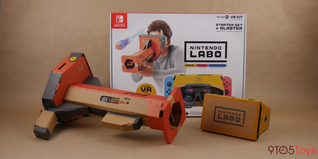 Virtual Reality awaits with Nintendo's $20 Labo Switch starter set (Save 50%) - 9to5Toys