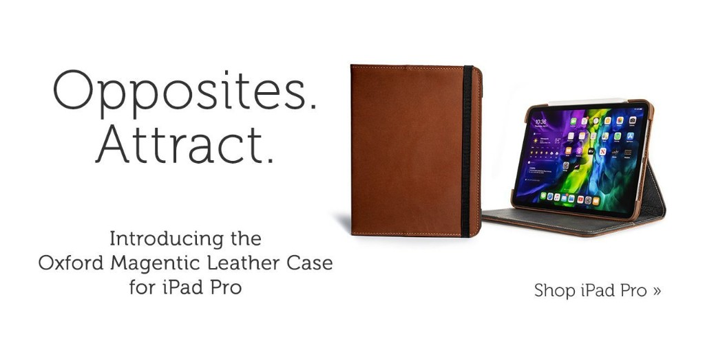 Magnetic leather iPad Pro cases from Pad & Quill now 25% off - 9to5Toys