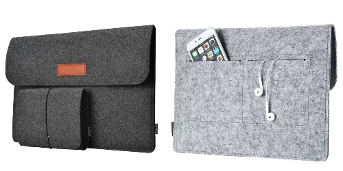Protect your MacBook on-the-go w/ this felt sleeve for $8 Prime shipped