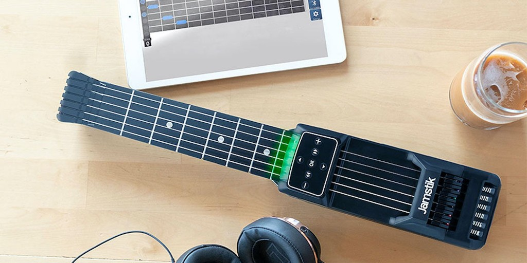 Learn how to shred anywhere with the Jamstik Guitar Trainer, now $160 - 9to5Toys
