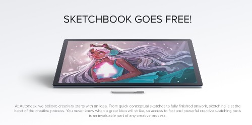 Full version of AutoDesk's SketchBook app for iOS, Mac, Android & Windows is now FREE