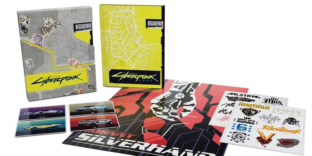 Lock-in the World of Cyberpunk 2077 hardcover books from $26 today (40% off) - 9to5Toys