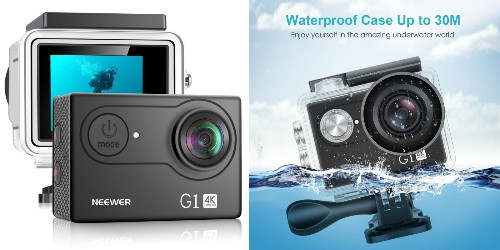 Neewer's G1 4K Action Camera is a budget-friendly alternative to GoPro at $24