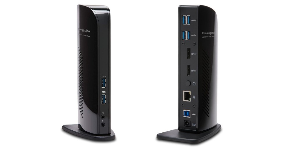 Kensington's USB 3.0 Docking Station can drive two 4K displays: $143 (20% off) - 9to5Toys