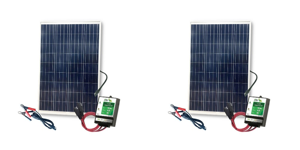 Charge up on the lake with this 100W Complete Solar Kit for $89 (Reg. $125+) - 9to5Toys