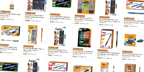 Amazon's Gold Box has BIC pencils, pens, and much more from $2