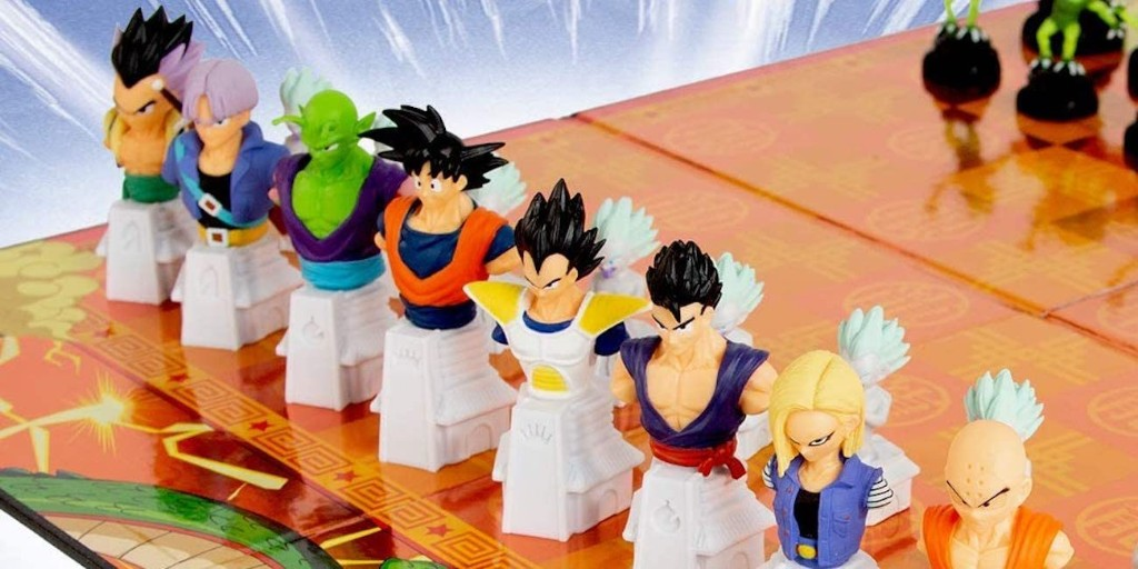 Add the Dragon Ball Z Chess Set to your collection: $35 (Today only, Reg. $60) - 9to5Toys