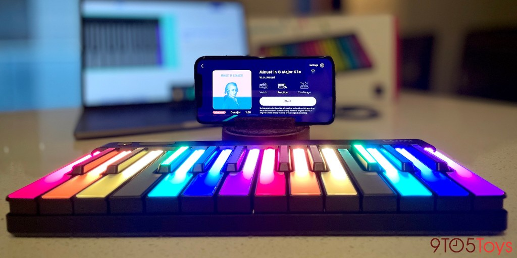 LUMI Review: Learning to play piano Guitar Hero-style on iOS - 9to5Toys