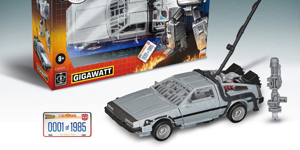Gigawatt: The new Transformers x Back to the Future DeLorean - 9to5Toys