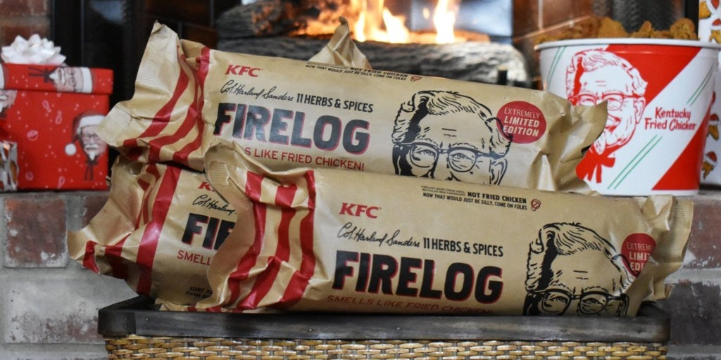 KFC Firelog smells like its 11 Herbs and Spices - 9to5Toys
