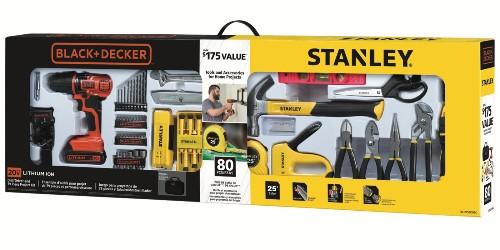 Kickstart your tool arsenal w/ this 80-piece BLACK+DECKER 20V Drill kit for $60 (Reg. $100)