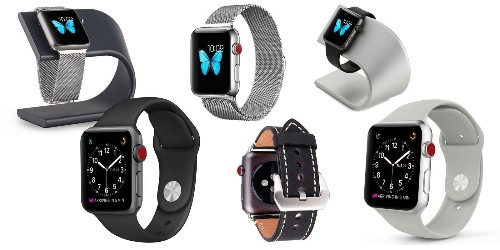 Apple Watch Bands and Docks from $6: Milanese Loop, Silicone, Leather, more