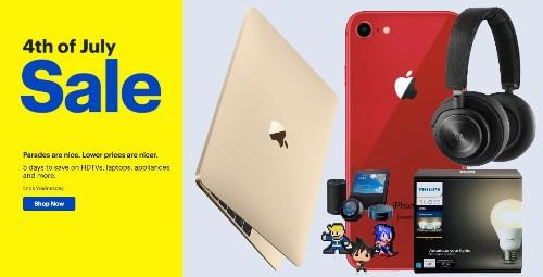 Best Buy July 4th sale arrives w/ $250 off MacBooks, iPhone deals, Philips Hue, TVs, more