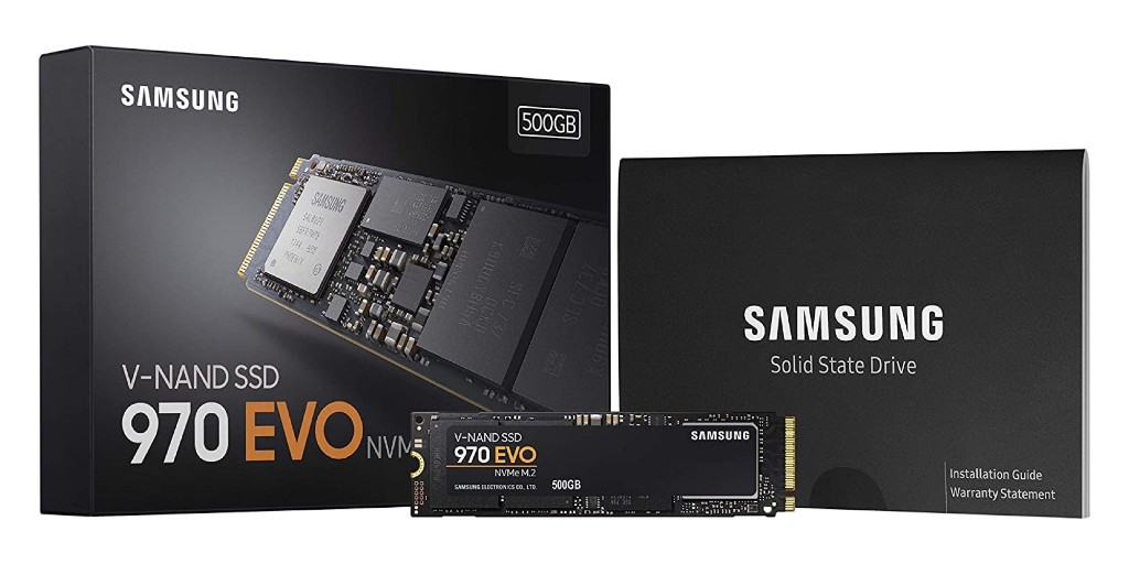 Samsung's 970 EVO 500GB NVMe SSD strikes new Amazon low of $69 (Reg. $90) - 9to5Toys