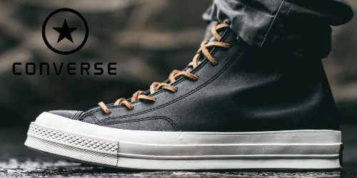 Converse updates your boots and sneakers with 50% off select styles from $38