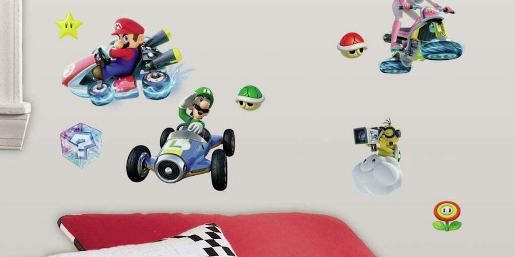 RoomMates wall decals up to 60% off: Mario, Pokemon, Trolls, more from $5.50 - 9to5Toys
