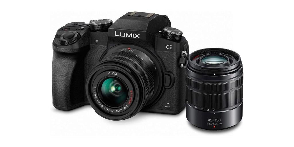 Amazon low returns on Panasonic's LUMIX G7 Mirrorless Camera Bundle at $498 - 9to5Toys