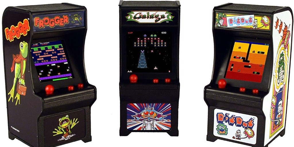Tiny Arcade machines now starting at $12 on Amazon: Dig Dug, Pac-Man, more - 9to5Toys