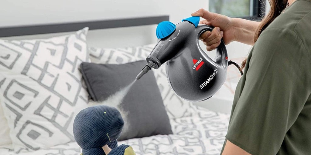 Bissell Steam Shot cleans clothes, showers, more for $20 (Amazon all-time low) - 9to5Toys
