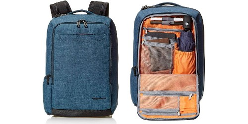 AmazonBasics Carry On Travel Backpack in blue drops to $28 shipped (Reg. $65)