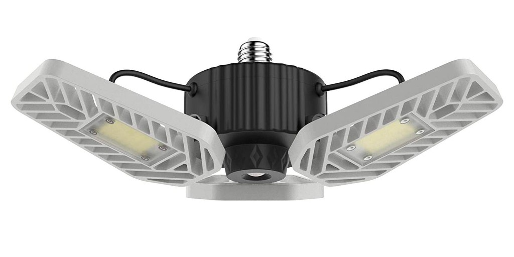 Under $15 each scores you a 2-pack of 6,500-lumen LED bulbs for your garage - 9to5Toys