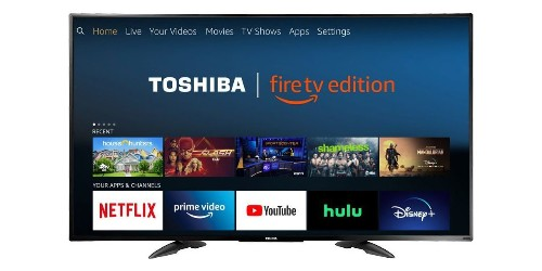 Toshiba outfits this 55-inch 4K HDR TV with Fire OS for $350 ($100 off) - 9to5Toys