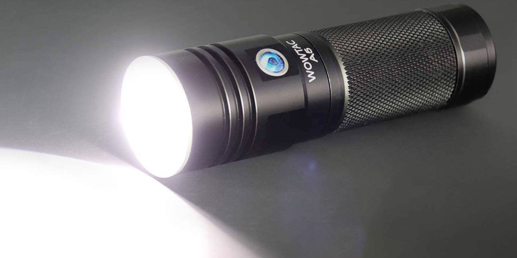 See it all with WOWTAC's 3,650-lumen rechargeable LED flashlight at under $40 - 9to5Toys