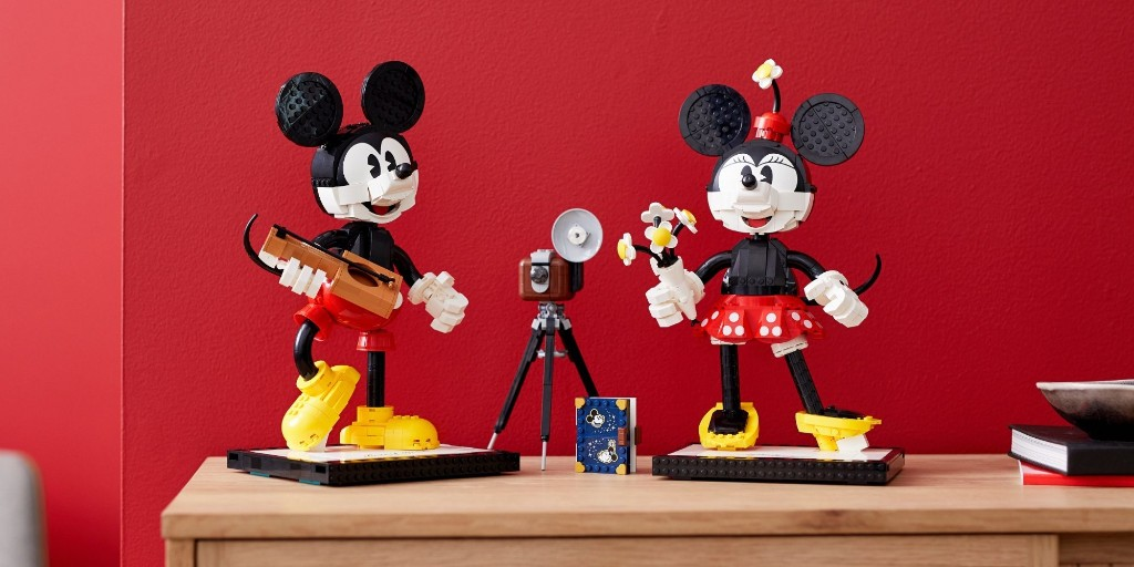 LEGO Mickey Mouse and Minnie buildable characters debut - 9to5Toys