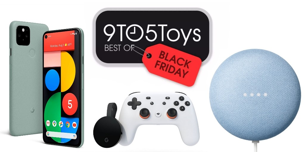 Best Google Black Friday deals: Pixel 5, Nest Mini, much more - 9to5Toys