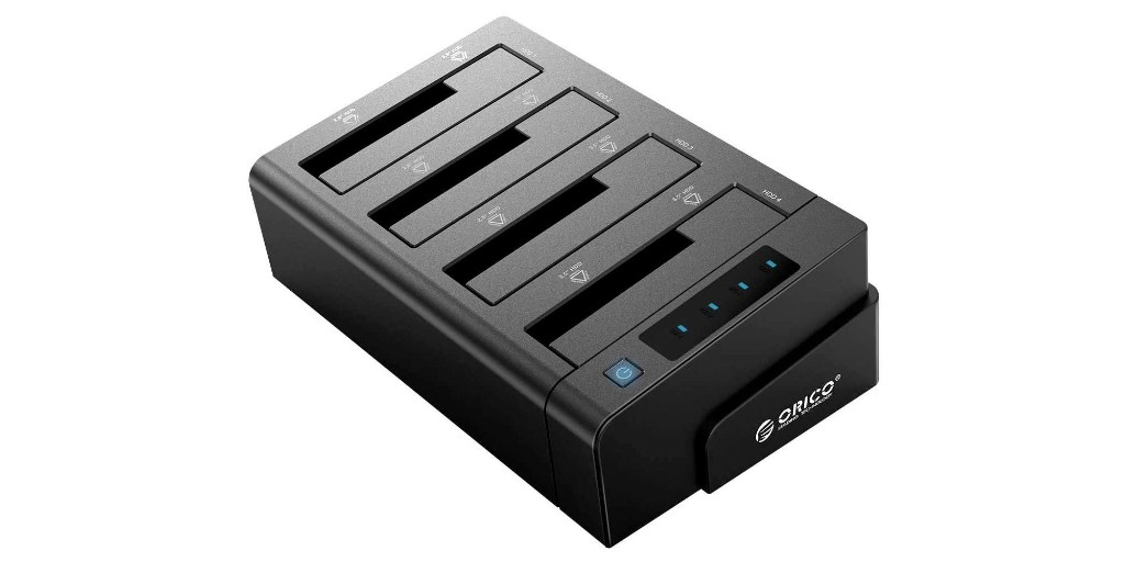 ORICO 4-bay SATA to USB dock supports drive cloning, 40TB of storage at $56 - 9to5Toys