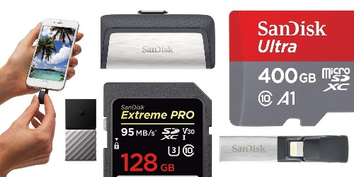 Huge SanDisk deals at Amazon from $27: Lightning drives, SD cards, SSD, more