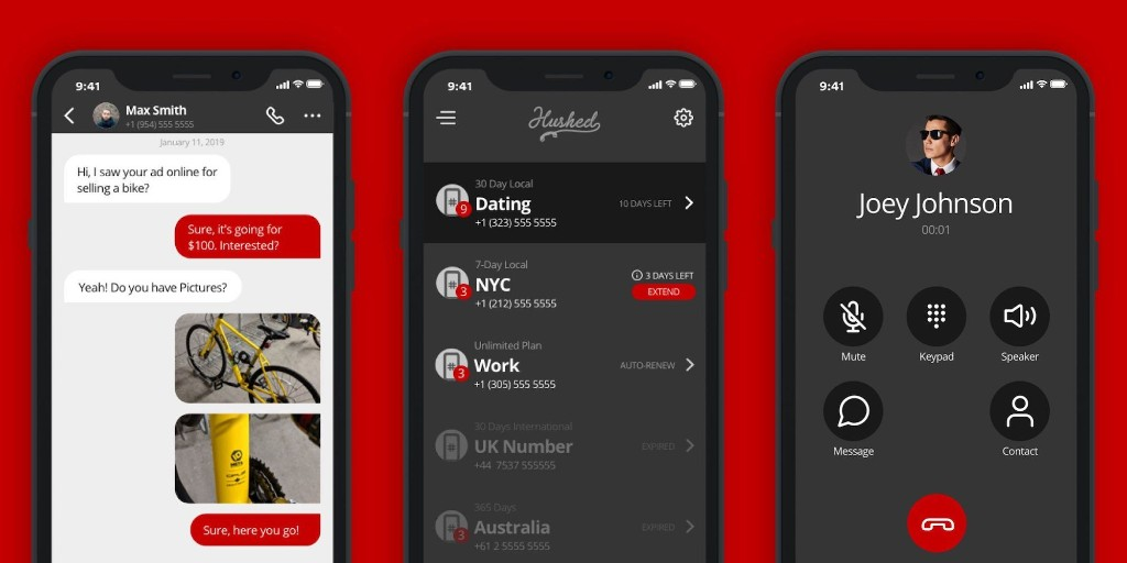 Get a secure second phone number to keep with Hushed for $20 - 9to5Toys