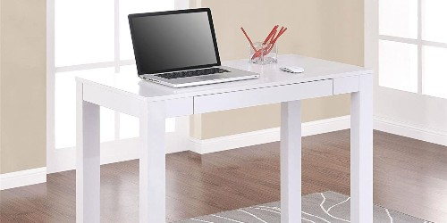 This minimalistic Ameriwood Parsons Desk ships promptly at under $65 - 9to5Toys