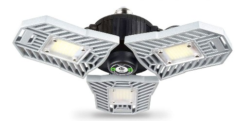 Every garage deserves this 6,000 lumen LED light at $27 shipped (30% off) - 9to5Toys